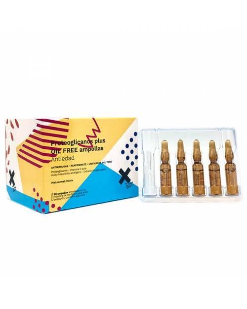 X Proteoglicanos Plus Oil Free 30 Ampollas